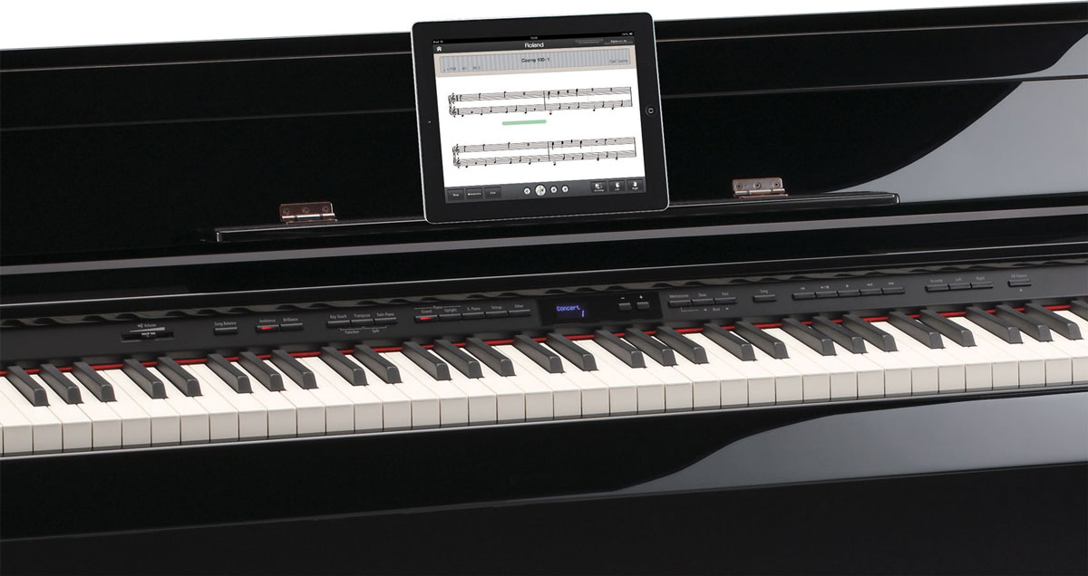 Roland Piano Partner App for iPad