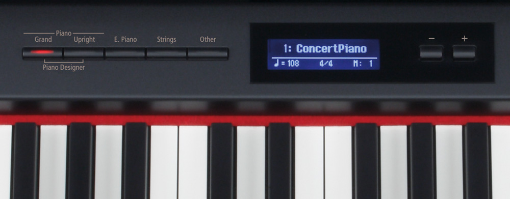 Sound Controls on Roland KX-15e Digital Piano